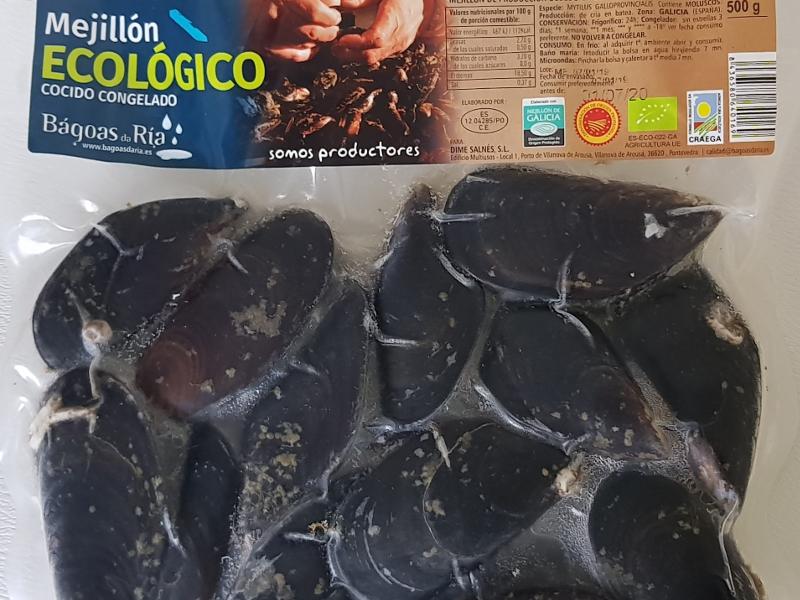 Mejillón Ecológico cocido en su jugo